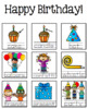 Birthday *FREEBIE* - Guided Writing Pattern Prompts for Em