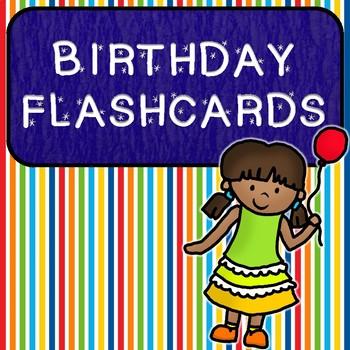 Birthday Flashcards!