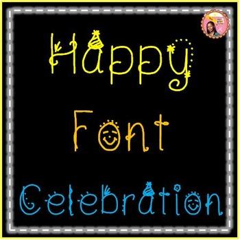 Birthday Font - Nyla Birthday Bash!