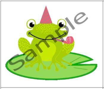 Birthday Frogs