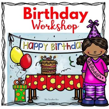 Kindergarten - 1st Grade -Special  Education- Birthday Workshop