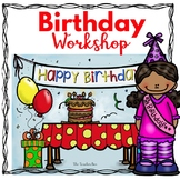 Kindergarten - 1st Grade -Special  Education- Birthday Workshop