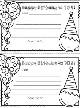 Birthday Fun! {Class Graph, Birthday Book, Certificates, Pencil Toppers}