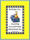 Birthday Counting Activities Preschool Kindergarten Special Education Math