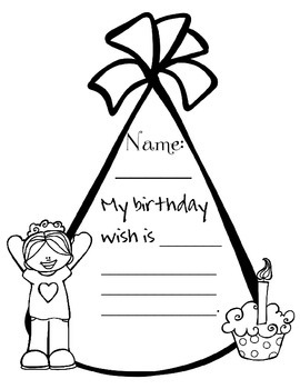 Birthday Game Activity Set