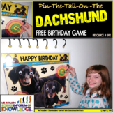 Birthday Games: Pin-The-Tail-On-The Dachshund