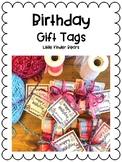 Birthday Gift Labels