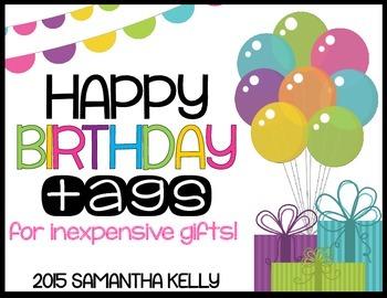 Birthday Tags