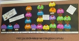 Birthday Graph Cup Cakes Template