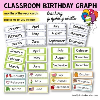 Birthday Graph | Display | Teach Self-Esteem and Graphing Skills
