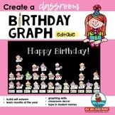 Birthday Graph   Display   Teach Self-Esteem and Graphing Skills