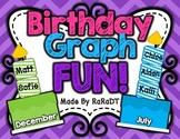 Birthday Graph Fun!