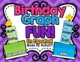Birthday Graph Fun! {Spanish Version}