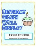 Birthday Graph Wall Display / Bulletin Board