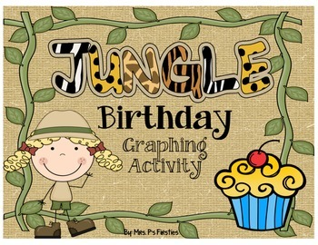Birthday Graphing Activity - Jungle Theme
