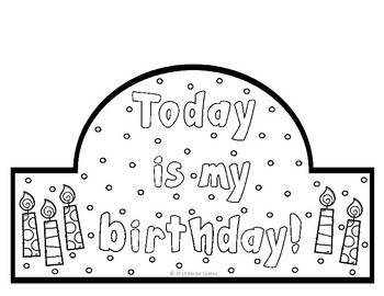 image relating to Printable Birthday Hat titled Birthday Hat
