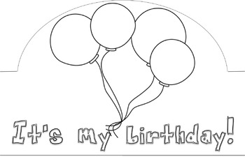Birthday Hat Freebie