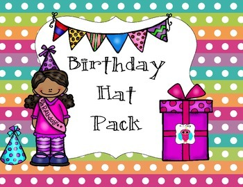 Birthday Hat Pack