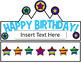 Birthday Hats (Editable)