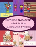 Printable Birthday Cards - Invitations