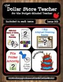 Birthday - Issue 002 - The Dollar Store Teacher Newsletter