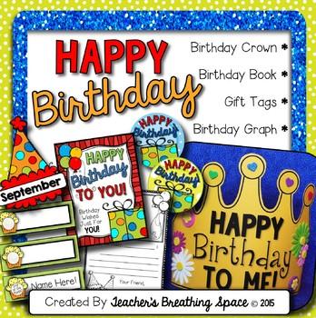 Birthday Kit - Birthday Crown, Birthday Book, Birthday Gra