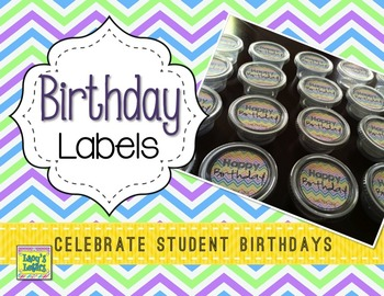Birthday Labels