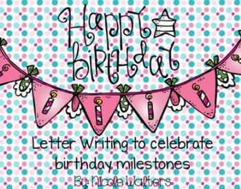 Birthday Letter Writing