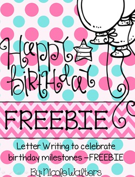 Birthday Letter Writing {FREEBIE}