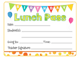 Birthday Lunch Pass