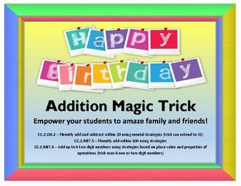 Birthday Magic Trick