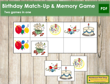 Birthday Match-Up and Memory