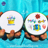 """Birthday Matching Game Shout Out 3"""" Cards"""