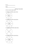 Birthday Math Packet