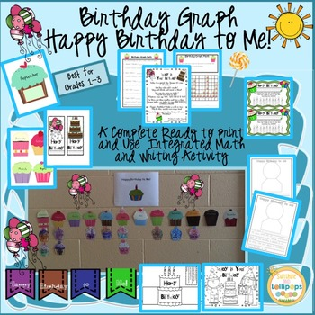 celebrate birthdays birthday chart banner display by sunshine and