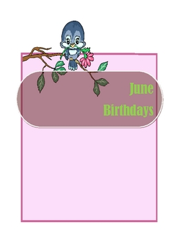 Birthday Month Posters & More