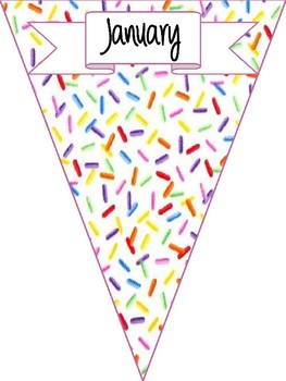 Birthday Monthly Labels