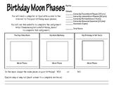 Birthday Moon Phase Activity