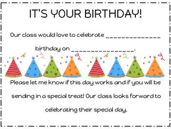 Birthday Note