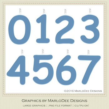 Birthday Number Candle Graphics Blue 1