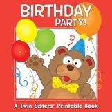 Birthday Party Activity Book & Digital Album Download