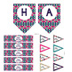 Birthday Party - Banner, Gift Tags, Water Bottle Labels, a
