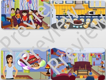 Birthday Party ClipArt Set by PrepToon
