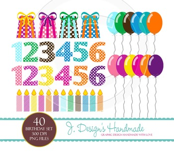 Birthday Party Commercial Use Clipart