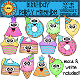 Birthday Party Friends Clip Art