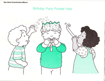Birthday Party Hats and Activities