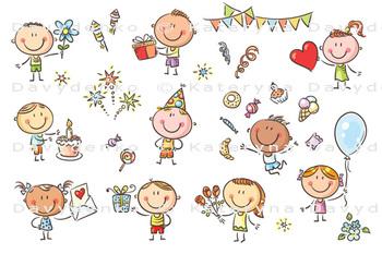 Birthday Party Kids Set