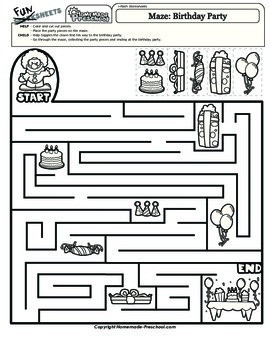 Maze: Birthday Party