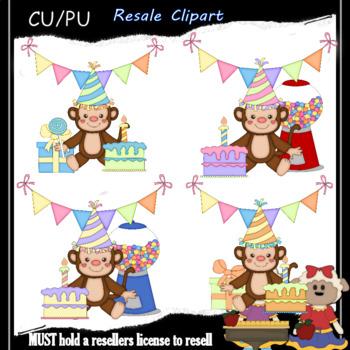 Birthday Party Monkeys 2