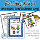 Birthday Party: Open Ended Reinforcement Game: Great for Speech and Language